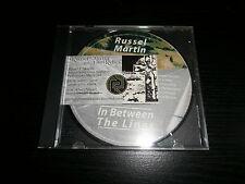 RUSSEL MARTIN & RELICS CD Toledo Ohio Singer Songwriter IN BETWEEN LINES Demo