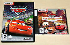 2 PC SPIELE SET - DISNEY PIXAR - CARS & CARS HOOK INTERNATIONAL