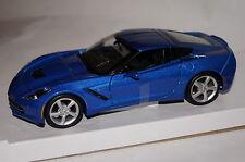 Chevrolet Corvette C7 Stingray Coupe blau 1:24 Maisto neu & OVP 531505