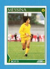 Figurina/CARD-SCORE '92-n.310- PROTTI - MESSINA - NEW