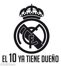 Vinilo  pegatina #210# REAL MADRID- LA DECIMA