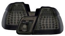 2 FEUX ARRIERE A LED NOIR BMW SERIE 3 E46 BERLINE PHASE 1 98-01 320D 330D