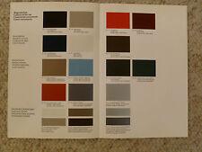 1982 Porsche 924, 924 Turbo FACTORY issued Color Chart Showroom Folder RARE L@@K