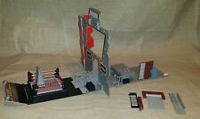 WWE Raw Stage Wrestling Ring Locker Room Foldup Playset Incomplete Replacement
