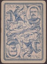 Playing Cards Single Card Old Antique Wide TEDDY ROOSEVELT Spanish American War