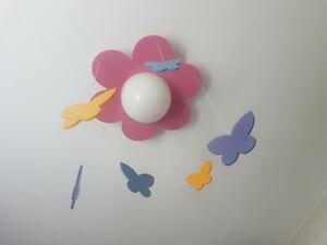 Girl's/Baby Pink Philips Meria Energy Saving Ceiling Light Butterfly Pendant