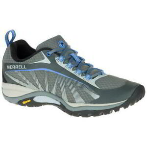 Merrell Siren Edge Womens Ladies Breathable Walking Hiking Trainers Shoes Grey