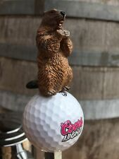 Caddyshack Golf TAP HANDLE Gopher COORS LIGHT BALL Beer Keg Bushwood CC