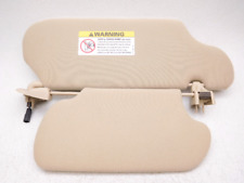 New Old Stock Sable Taurus Left Driver Dual Double Sun Visor Tan Parchment