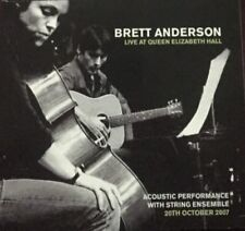 BRETT ANDERSON (SUEDE) DOUBLE DIGIPACK LIVE AT QUEEN ELIZABETH HALL 2007 CD NEW
