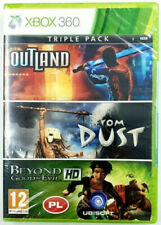 Triple Pack Ubisoft : Outlast / From Dust / Beyond good and Evil - XBOX 360 PAL