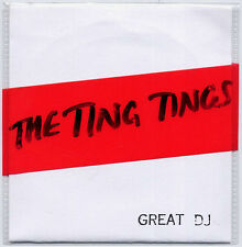 THE TING TINGS Great DJ 2008 UK 2-track CD single with handmade sleeve
