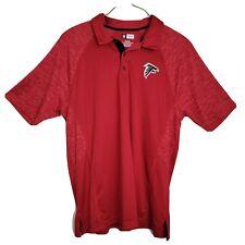 NFL Team Apparel men's golf polo shirt size XL Atlanta Falcons football logo