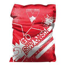 Sydney Swans AFL Giant Bean Bag Indoor Outdoor Cushion