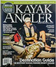 Kayak Angler Winter 15 Destination Guide Hottest Fishing Holes FREE SHIPPING sb