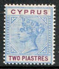 Cyprus QV 1894 2pi Blue Purple SG43 Mint MH
