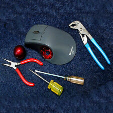 COMPLETE Microsoft Optical Trackball REPAIR SERVICE I Can Make Yours Much Better
