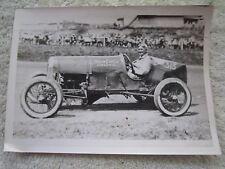 VINTAGE 5x7 RACE CAR PHOTOGRAPH, YELLOW CAB Co. GLEN ELLYN, ILLINOIS