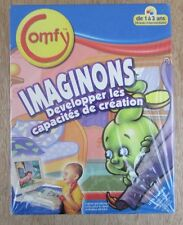 Comfy Imaginons Baby Computer Game French New Sealed Let's Imagine PC Ages 1-3