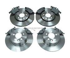 ROVER MG ZT 160 180 2000-2005 FRONT & REAR BRAKE DISCS AND MINTEX PADS SET NEW