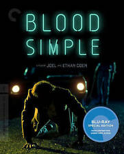 Blood Simple (Blu-ray Disc, 2016, Criterion Collection)