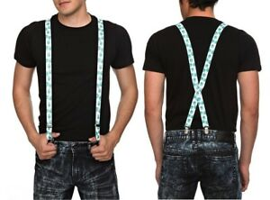 """BMO BEEMO Adventure Time With Finn and Jake Suspenders 1"""" Wide Adjustable New"""
