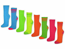 4 bis 14 Paar NEON Kuschelsocken Bettsocken Damen Kuschel Socken Haussocken