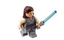 Lego Star Wars Minifigure The Last Jedi - Rey & Lightsaber *New* 75189