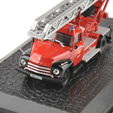 Atlas 1/72 Opel Blitz Fire Truck Metal Alloy Vehicles Cars Static Model Toys