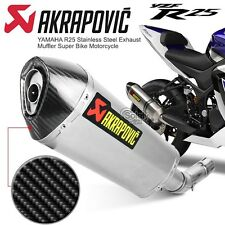 Akrapovic Yamaha YZF-R25 YZF-R3 R25 Motorcycle Super Bike Racing Exhaust Muffler