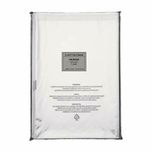 100 10x13 Self Seal Suffocation Warning Clear Poly Bags 1.5 mil