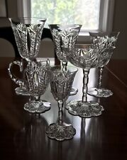 Rare Baccarat Crystal Conde 6 Piece Place Setting.
