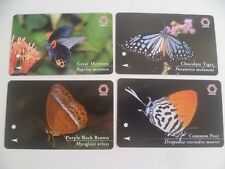 Old Singapore MRT train Card Ticket - Butterfly Series  (L165)