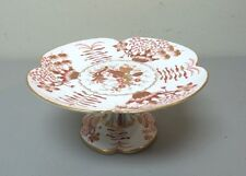 "BEAUTIFUL 19th C. COPELAND SPODE 9.25"" PEDESTAL CAKE / DESSERT STAND, c. 1880"