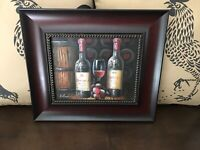 Wine Picture Wall Art / CHATEAU