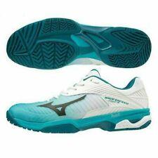 Mizuno Men's Wave Exceed Tour 3 AC White/Blue/Peacock Tennis Shoe BNIB