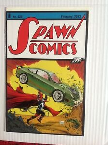 SPAWN # 228 ACTION COMICS HOMAGE COVER FIRST PRINT IMAGE COMICS