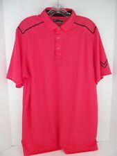 Callaway Men's Polo Golf Shirt Salmon Sz. L