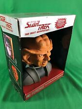 Star Trek The Next Generation Numbered Ferengi Vinyl Coin Bank Mint in Box