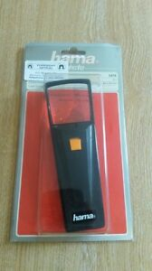 Hama Illuminated Magnifier (item number 5476).  2X magnification.