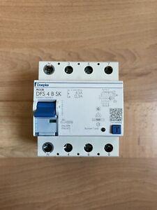 Doepke DFS 4 B SK FI Schutzschalter 63A 0,3A 300mA Allstrom Sensitiv Typ B