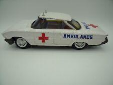 Voiture à Friction Tôle / Tin Toys  Ambulance / Emergency Car JAPAN TOP