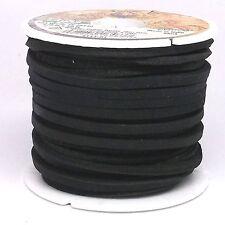 """Latigo Lace Black 1/8"""" X 50 Ft 5111-01"""