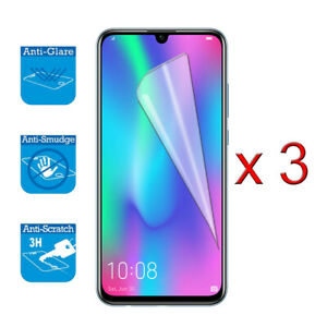"""For Huawei Honor 10 Lite 6.21"""" - Screen Protector Cover Guard LCD Film Foil x 3"""