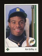 1989 Upper Deck #1 Ken Griffey Jr. Seattle Mariners RC Rookie HOF
