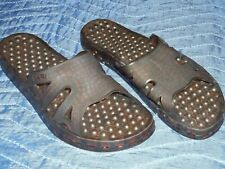 a50686681447f6 Brown Sensi Sandals Flip Flops Spa Made In Italy Size 8 (38-39)