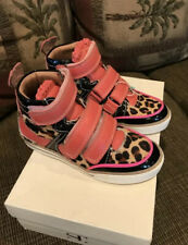 New Girls Supertrash Leather Sneakers Size 12