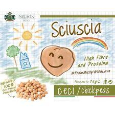Sciuscia - Ceci Pascià origine Sicilia - Chickpeas with high fibre & proteins