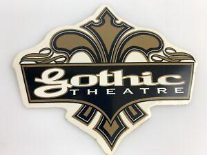 St Louis Missouri MO The Gothic Theatre Fleur De Lis Sticker Support Local Venue