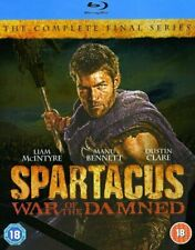 Spartacus - War Of The Damned (Blu-ray, 2013) Complete 3rd Season